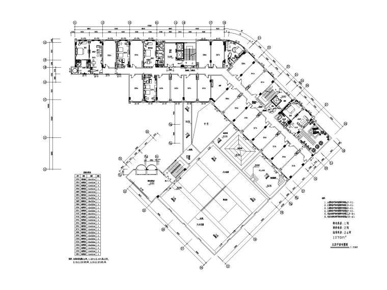 [广东]集美-佛山华盛万锦酒店全套设计资料丨公区+客房CAD施工图