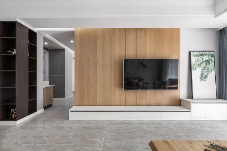 电视墙已经OUT了,有钱人都这么放电视!
