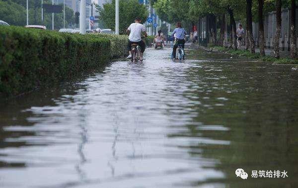 城市道路积水问题及市政道路线性排水工程