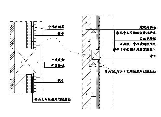 精装修工程细部节点构造施工示意图,就是这么全!_52