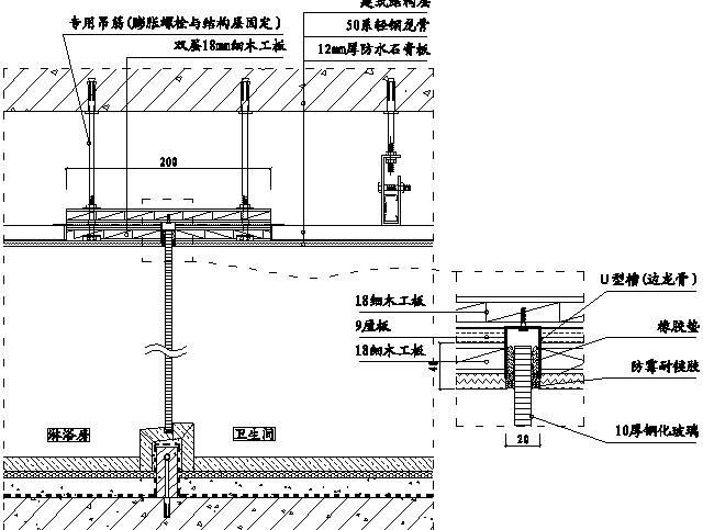 精装修工程细部节点构造施工示意图,就是这么全!_76