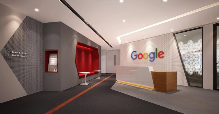 [北京]Google谷歌PekKejGovoL4L5改造项目丨PPT设计方案+效果