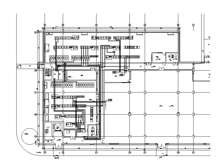 北京产业园全套电气消防施工图