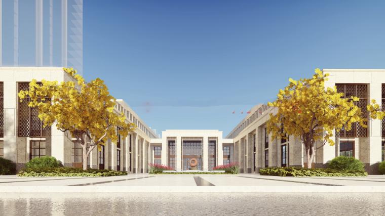 [河南]绿地郑州售楼处幼儿园建筑模型设计