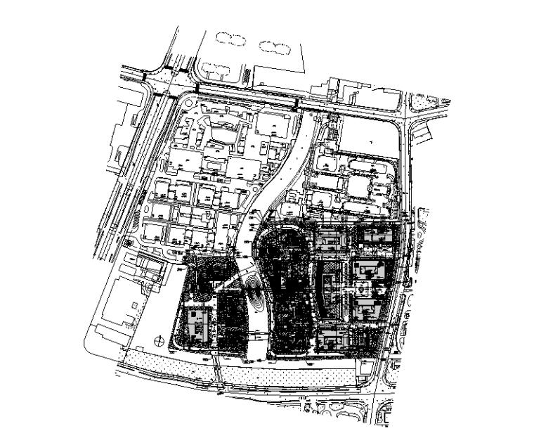 上海商业办公楼消防图纸(2018)