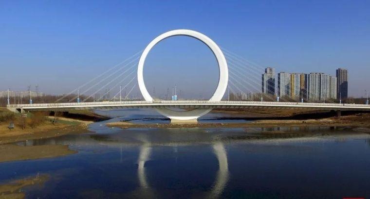 郑州这些新颖的桥,承载着城市的美和文化!