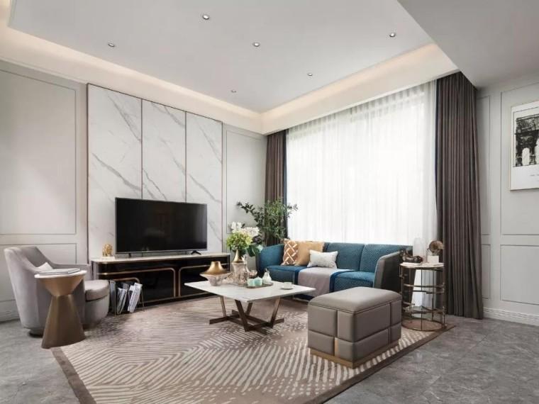 极简法式风格的住宅