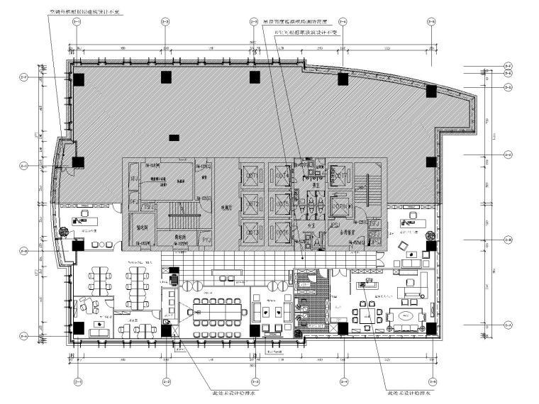 [香港]海山-香港恒基集团办公楼施工图+效果图