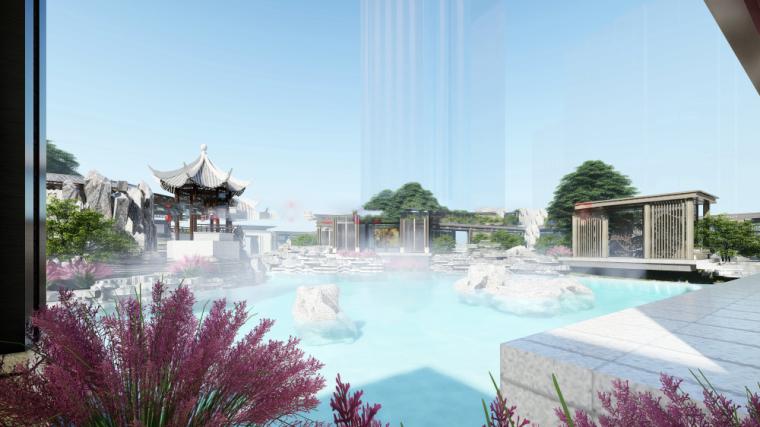 建发太仓韩家桥中式示范区概念建筑模型设计(2018年)