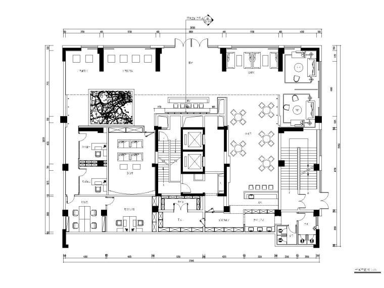 [深圳]帝凯设计-大润发销售中心装饰施工图+效果图