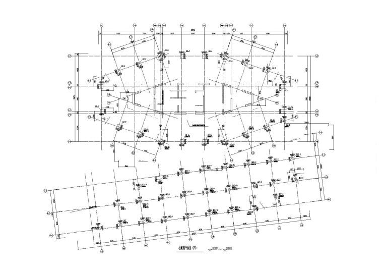 18层框筒结构中国海运大厦建筑结构施工图(2015)