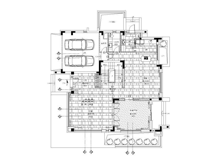 [上海]梁志天-湯臣羅山路38河住宅B型別墅丨CAD施工图+官方摄影