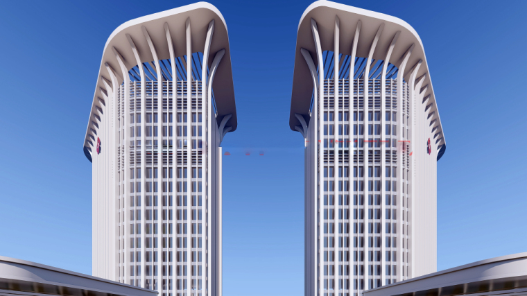 [广东]晋宁医院建筑模型设计(现代风格)
