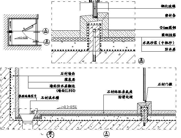 精装修工程细部节点构造施工示意图,就是这么全!_7