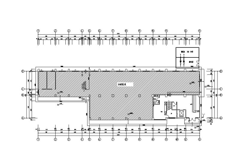 高层综合楼消防给水施工图(火灾自动报警、疏散及应急照明)