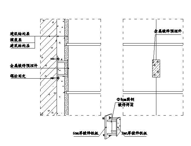 精装修工程细部节点构造施工示意图,就是这么全!_33