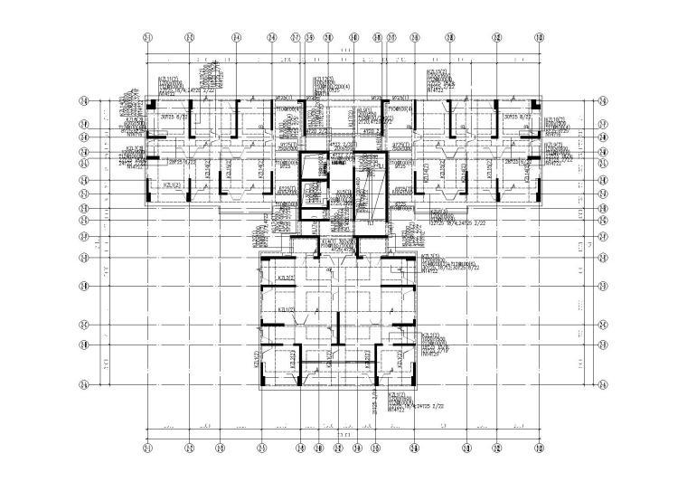 [深圳]33层框支剪力墙住宅楼结构施工图(含沿街商业楼)