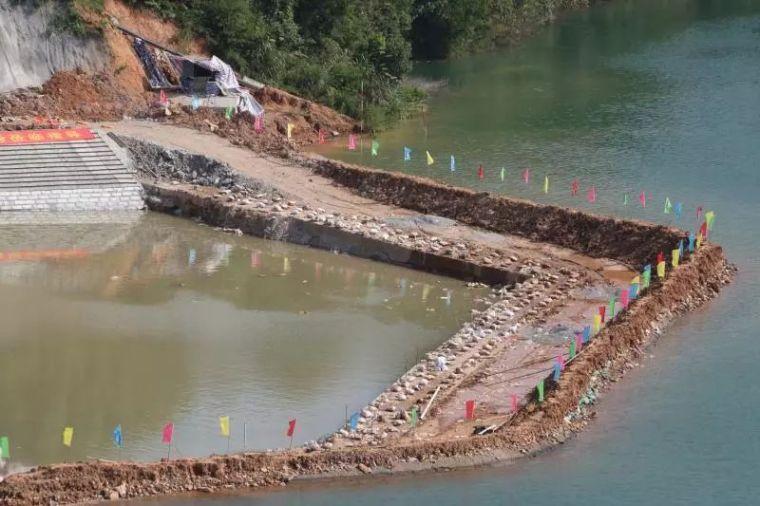 进水口围堰拆除,千岛湖水近了!