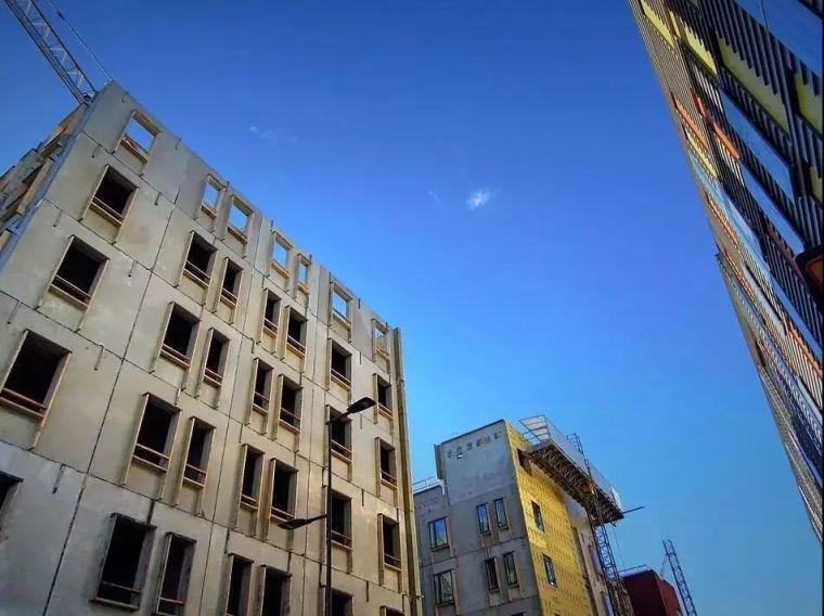 高效率装配式建筑外墙施工