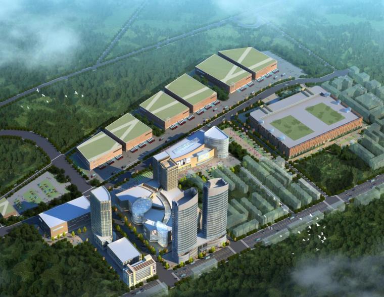 [北京]朝阳物流产业集群规划及北川工业物流园商业方案文本(JPG+31页)