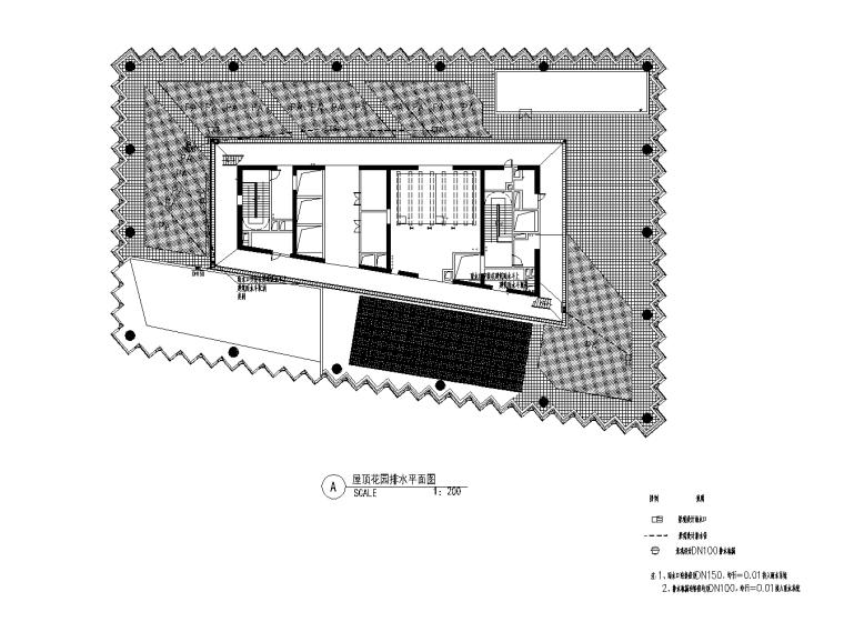 11 屋顶花园排水平面图_看图王