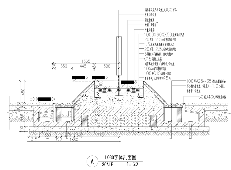 5 特色水景详图,LOGO字体详图_看图王