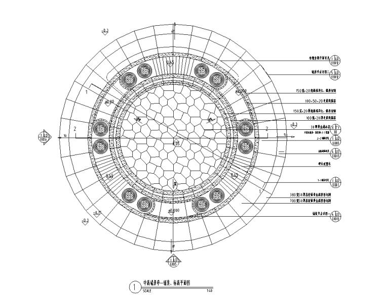 景观细部施工|中高端景观亭一施工图(含园建、结构、电气)