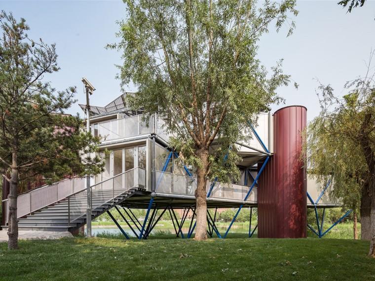 北京湖边插件塔住宅