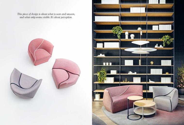 [软装素材]COY-简洁时尚创意设计现代家具带尺寸图资料