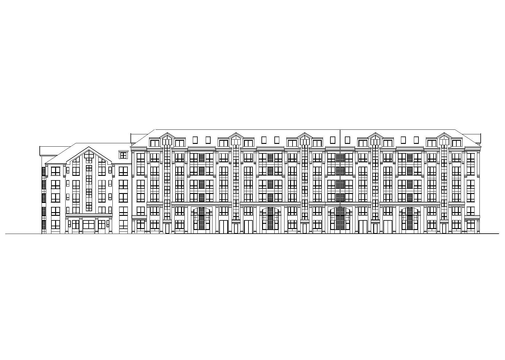 [吉林]長春某花園小區住宅樓建筑群設計施工圖(含總圖)