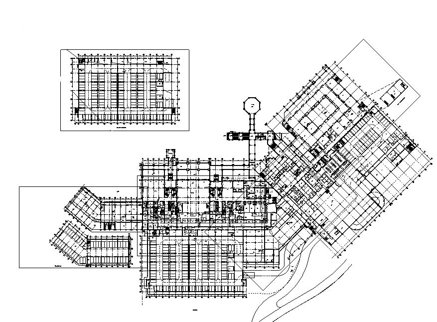云南高層公共建筑機電及消防施工圖(五星級度假酒店、會議中心)