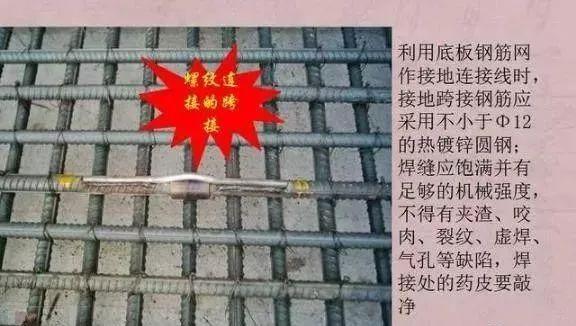 图解防雷及接地安装施工工艺|附技术交底_6