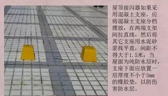 图解防雷及接地安装施工工艺|附技术交底_15