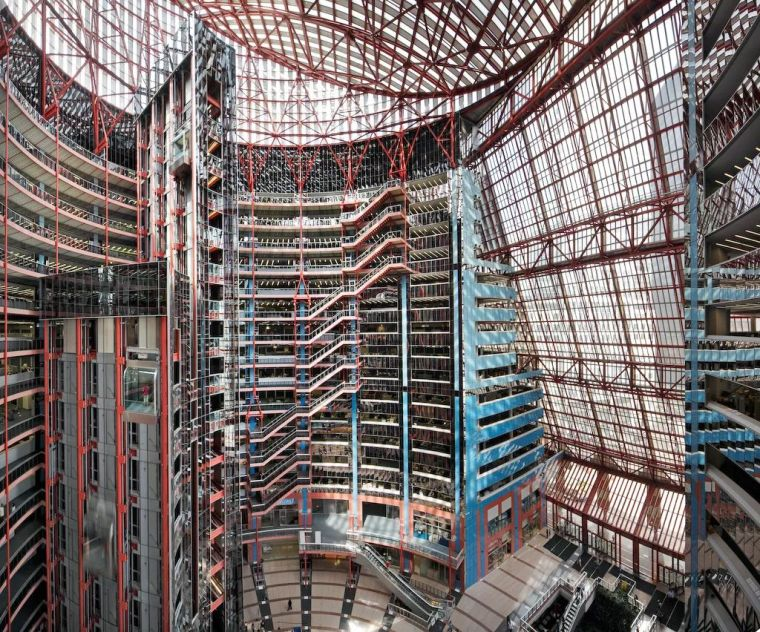 或将消失的后现代主义建筑:汤普森中心