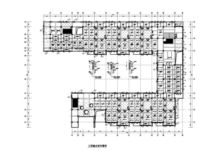 [上海]3层框架结构幼儿园全套施工图2018