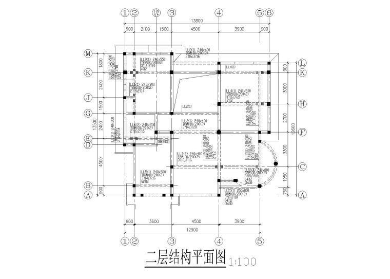 3层砖混砌体结构食堂全套施工图(建筑结构水电)