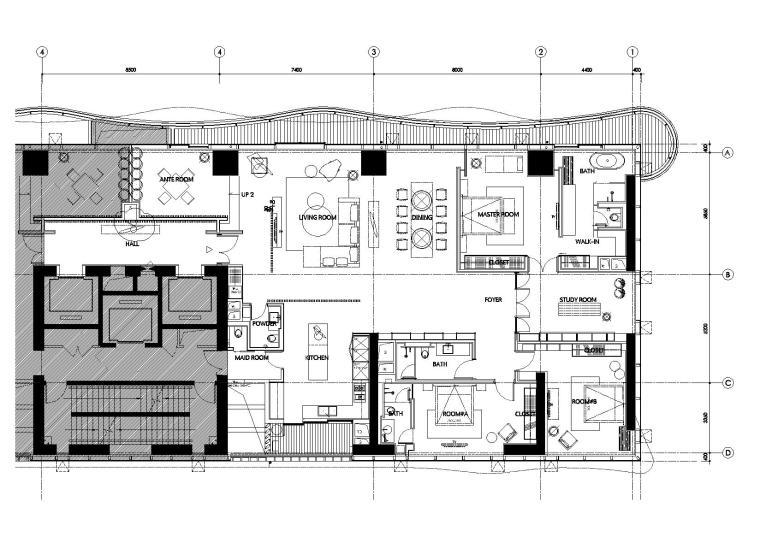[福建]厦门恒禾七尚高层样板房丨全套施工图