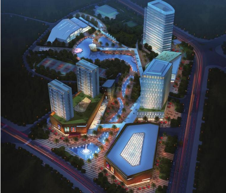 [广东]现代风格体育公园概念规划设计方案本(PDF+39页)