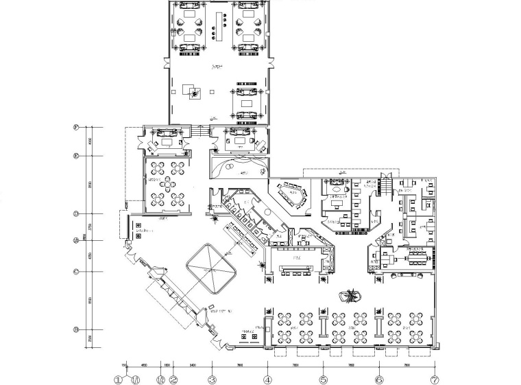 [广东]高文安-佛山奥园售楼处CAD施工图+深化方案+软装方案