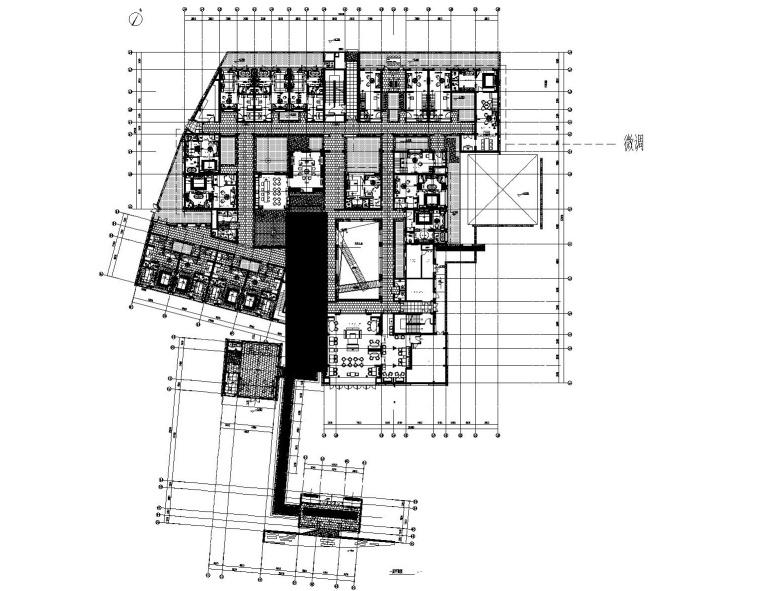 [江苏]花间堂-周庄新中式休闲度假民宿客栈CAD施工图+设计方案+客房SU