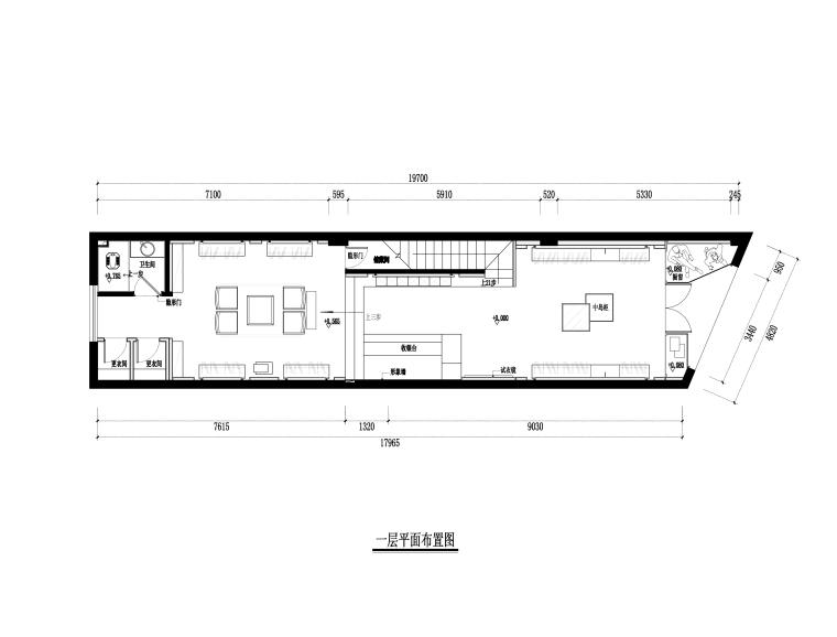 [香港]品悦-长乐服装店CAD全套施工图+效果图