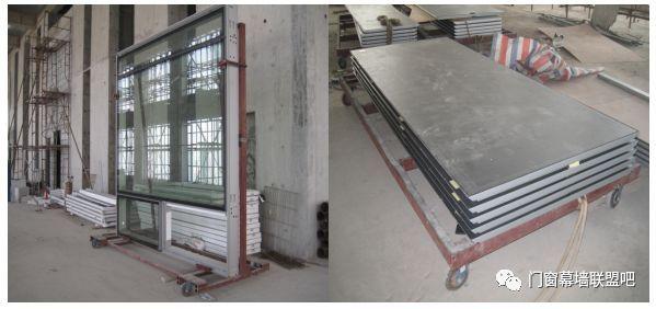 大型Low-e玻璃嵌型窗和包梁包柱系统幕墙施工工法