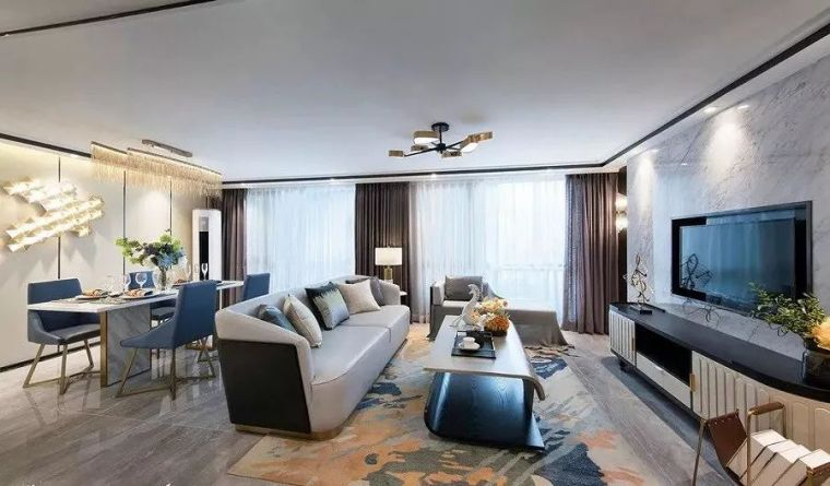 59平loft小公寓现代港式风,装下都市生活的现代小窝~