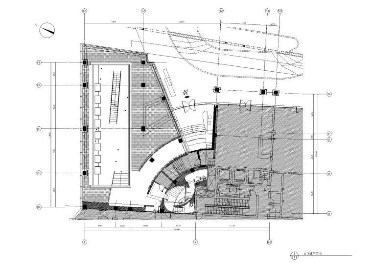 李玮珉设计案例资料下载-[上海]李玮珉-瑞安房地产上海公寓展厅全套CAD施工图+钢结构图纸