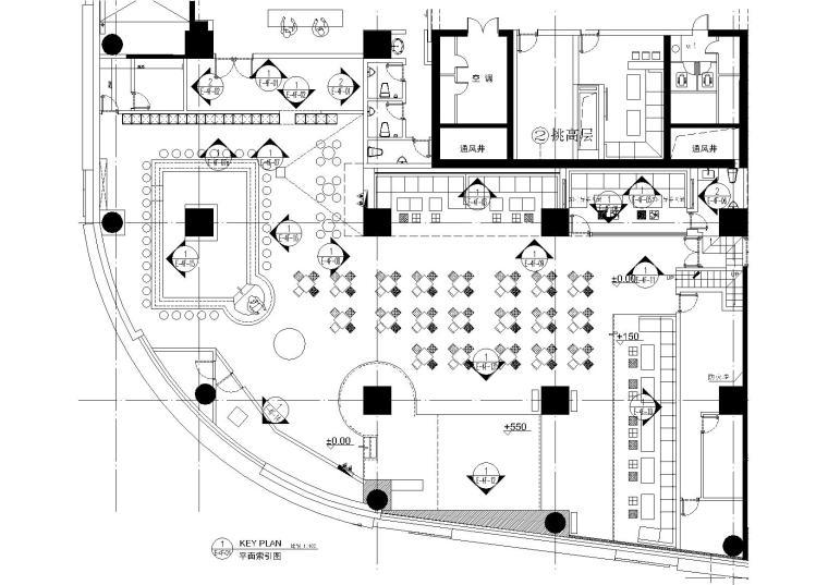 [上海]V-SHOW概念店丨高清效果图+CAD施工图+家具图纸+物料书+实景照