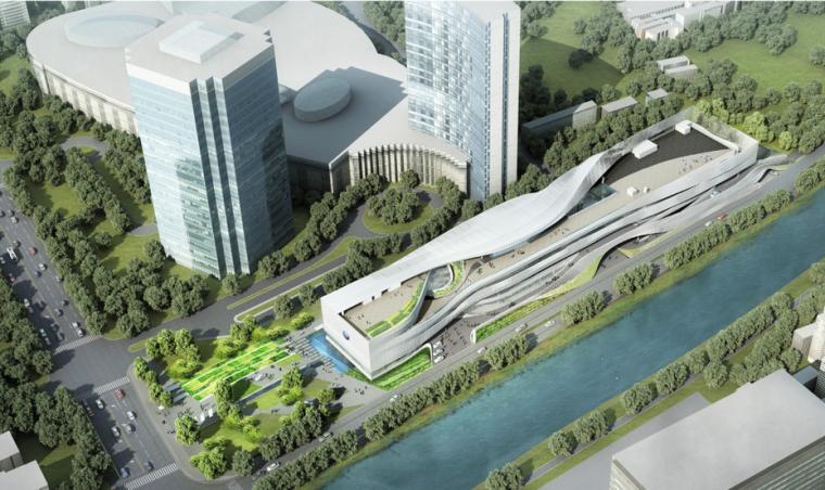 [北京]MetaDesign-大众品牌体验中心建筑、景观设计方案文本