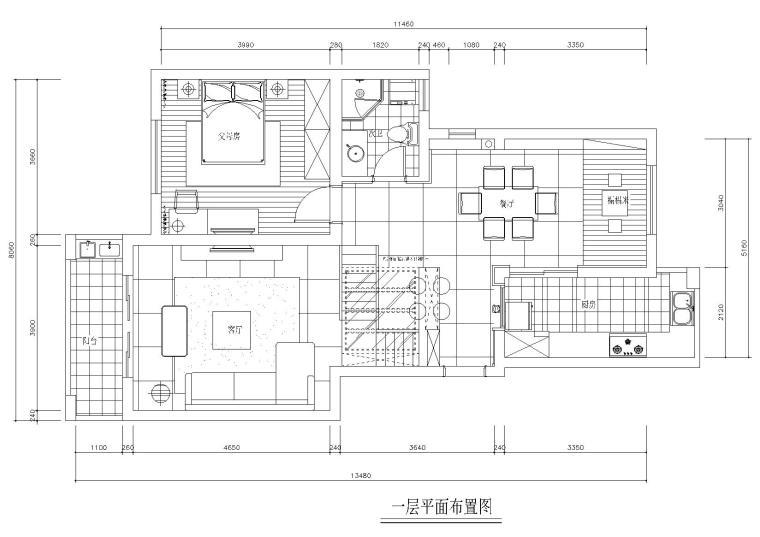 [江苏]苏州某户型样板间CAD施工图+实景拍摄