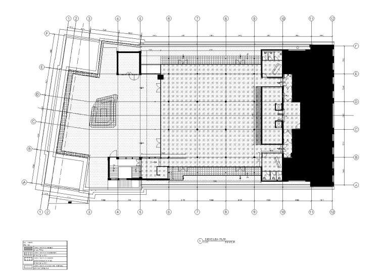 [上海]Kokaistudios-上海外滩18号1100㎡酒吧效果图+施工图+机电+厨房+摄影-拆除计划图