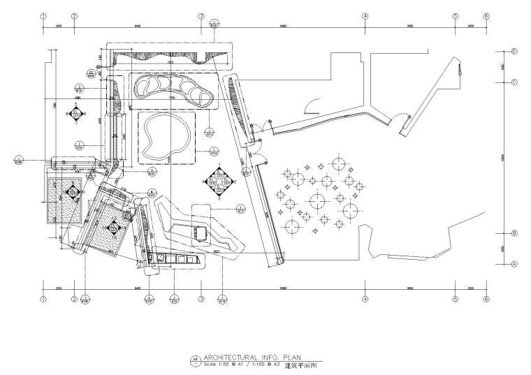 [临沂]StudioHBA赫室-临沂华润中心招商展示中心效果图+方案PPT+平面图CAD+完工实景