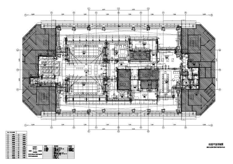 [上海]KPF-上海环球金融中心93层CAD施工图